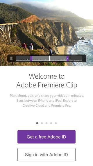 Adobe Premiere Clip - Imagem 1 do software