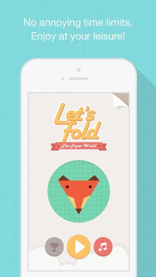 Let`s Fold - Origami Puzzle Game - Imagem 1 do software