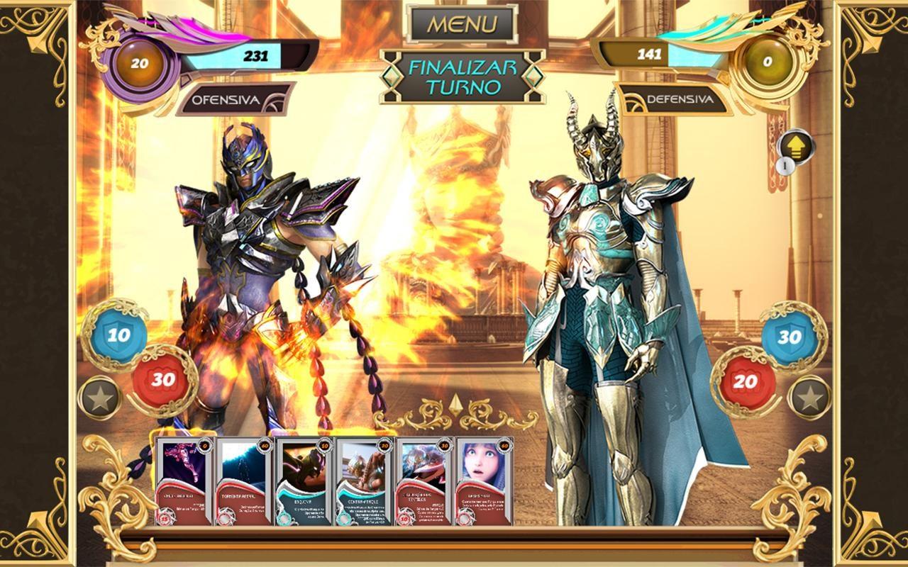 Cavaleiros do Zodíaco: Cards - Imagem 1 do software