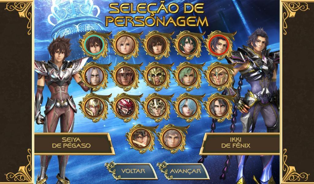 Cavaleiros do Zodíaco: Cards - Imagem 2 do software