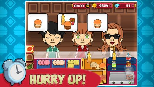 My Burger Shop - Fast Food Store & Restaurant Manager Game - Imagem 1 do software
