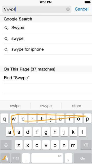 Swype - Keyboard - Imagem 1 do software