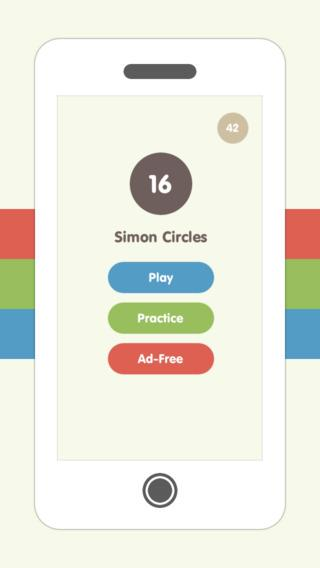 Simon Circles - Imagem 2 do software