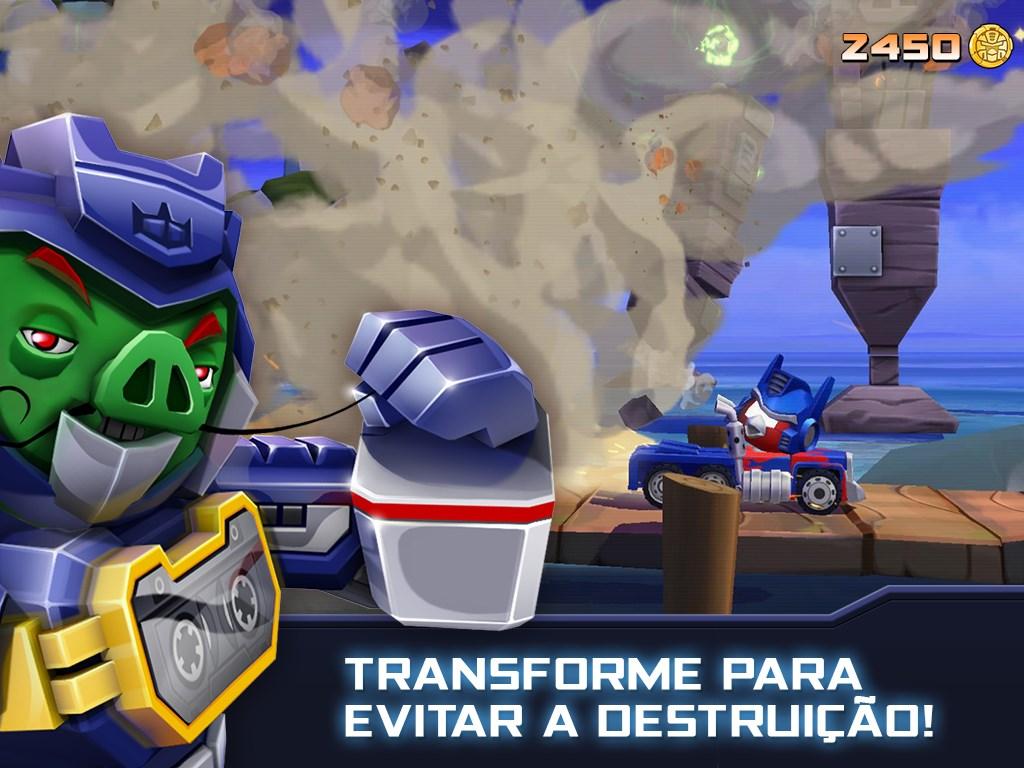 Angry Birds Transformers - Imagem 2 do software