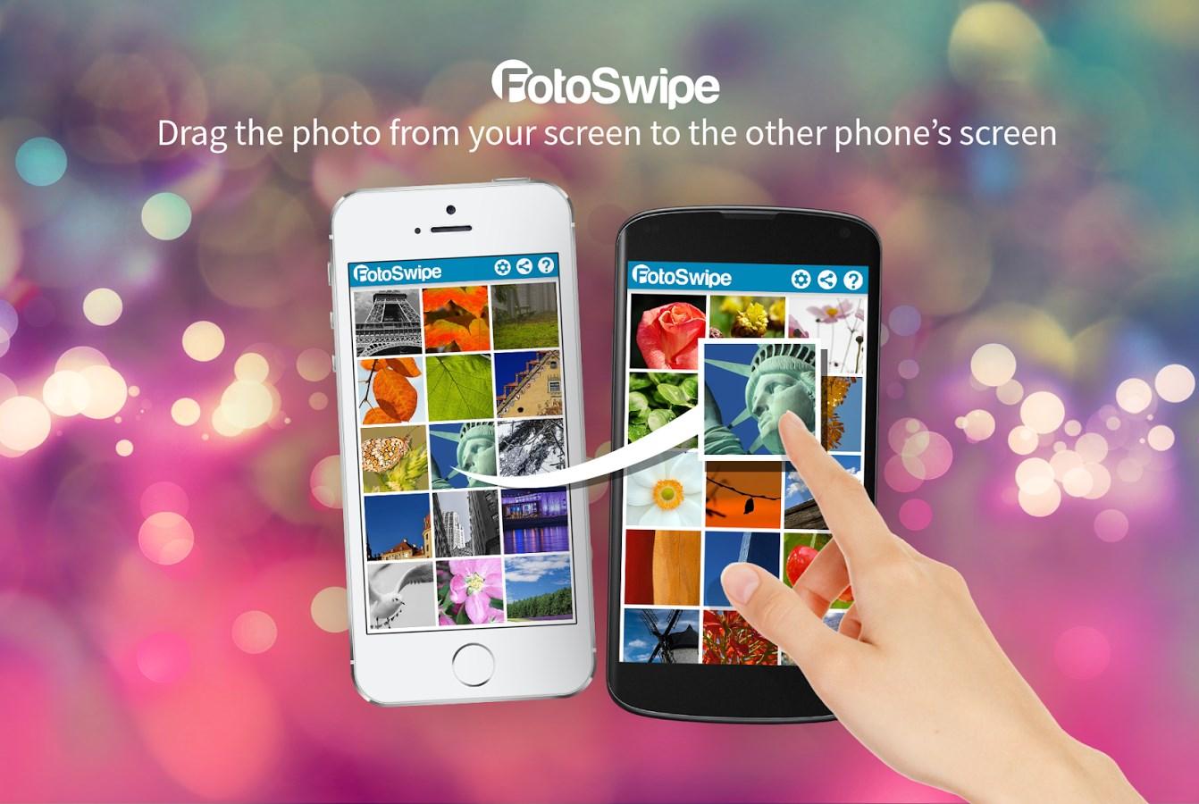 FotoSwipe - Swipe, Share Photos - Imagem 1 do software
