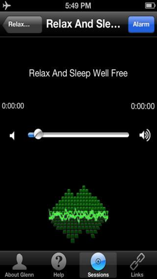 Relax & Sleep – Glenn Harrold - Imagem 2 do software