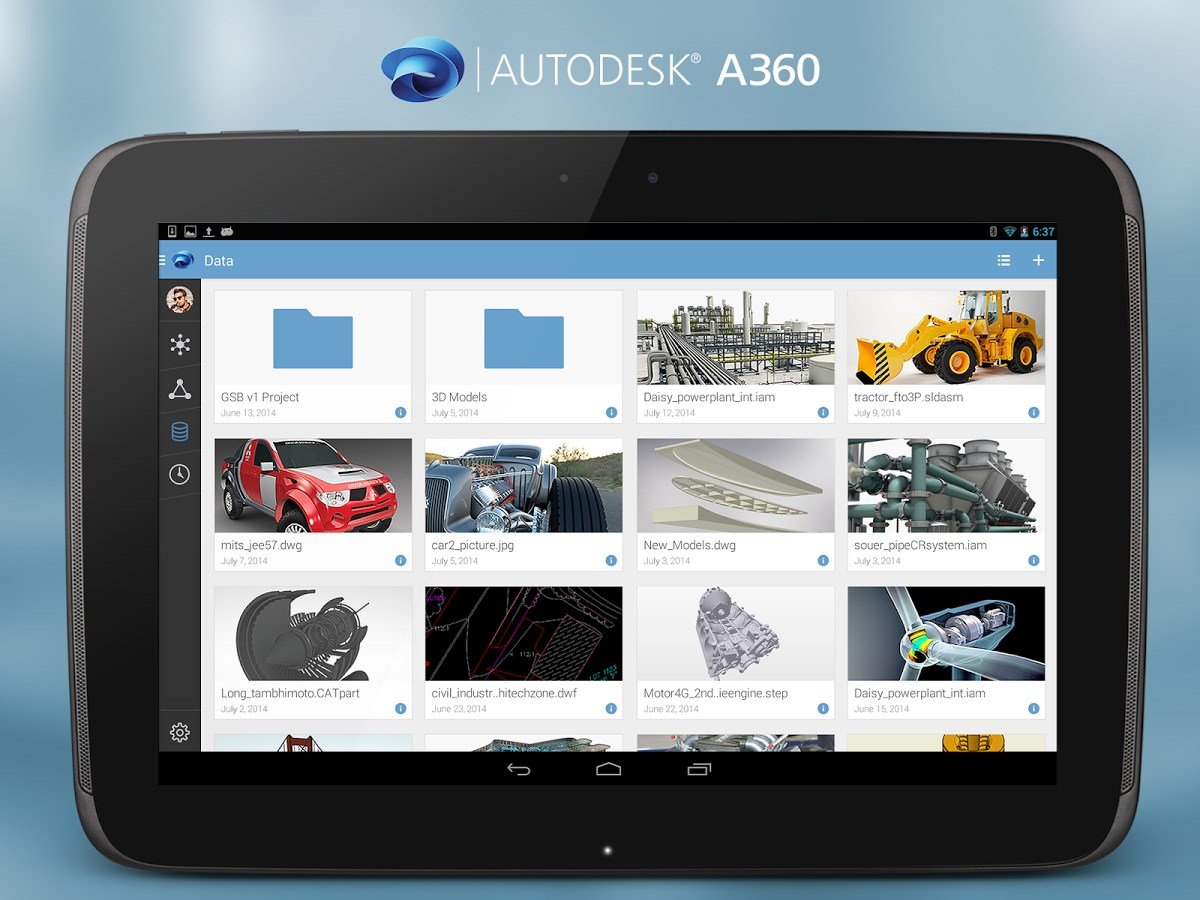Autodesk A360 - Imagem 1 do software