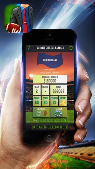 Draft Day American Football Manager - Imagem 1 do software