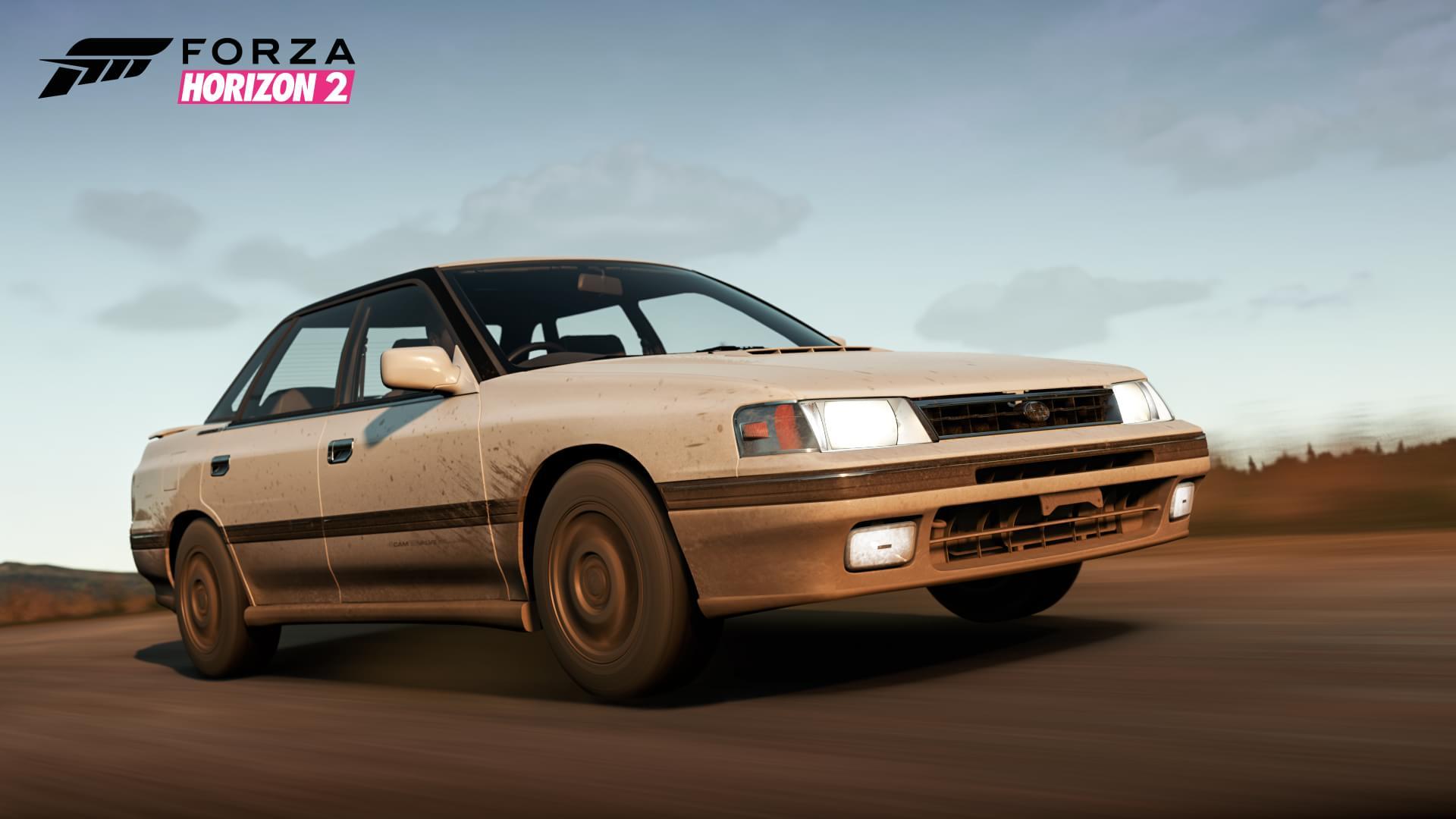 Pacote Falken, de Forza Horizon 2, traz Subaru Legacy RS 1990 de graça