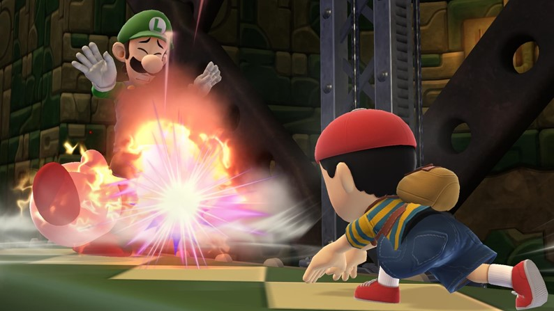Novas screens e artes de Super Smash Bros.