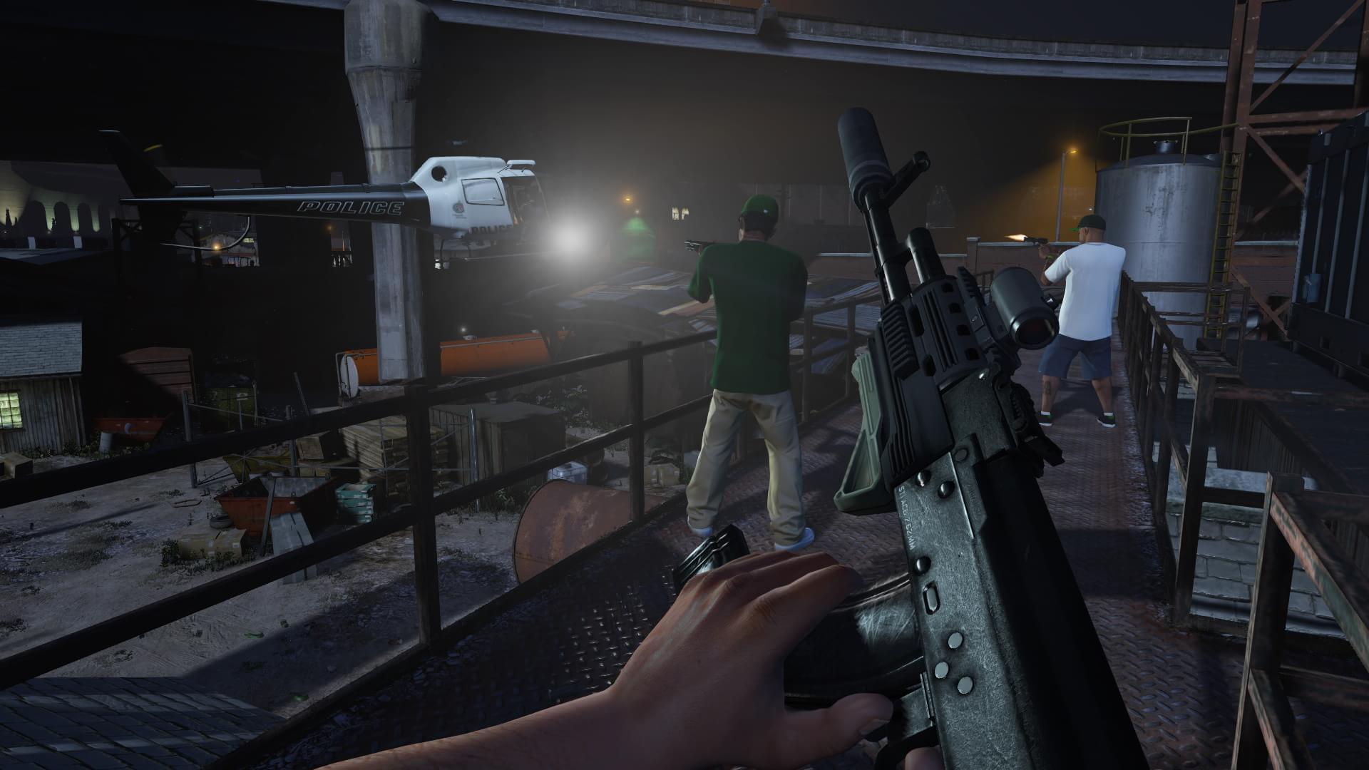 GTA V: modo em primeira pessoa poderá ser forçado em partidas online