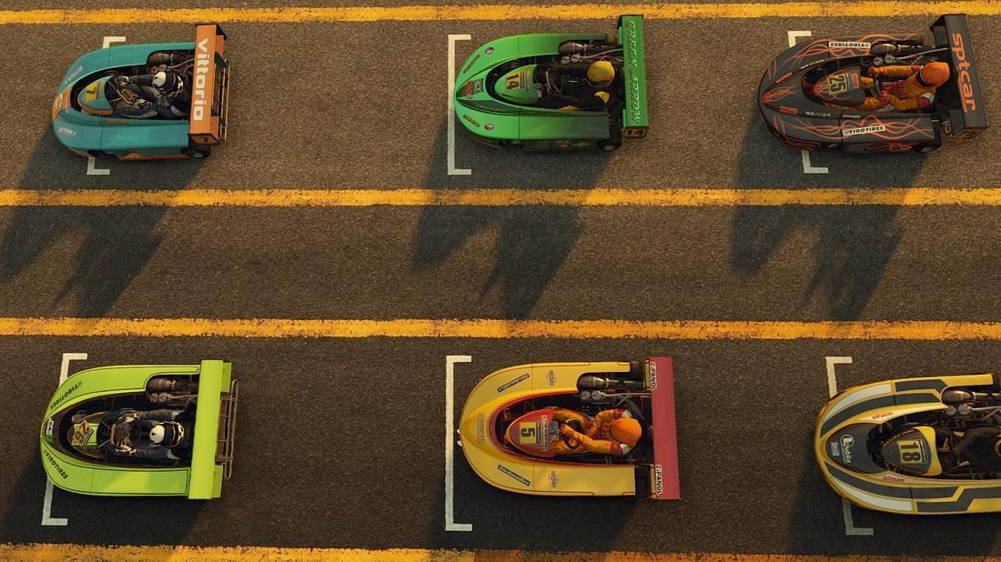 Project CARS dá uma amostra de como serão os karts no game [galeria]