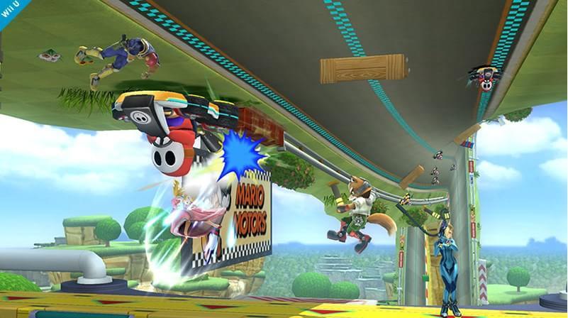 Pista de Mario Kart 8 é revelada como cenário no Super Smash Bros. do Wii U