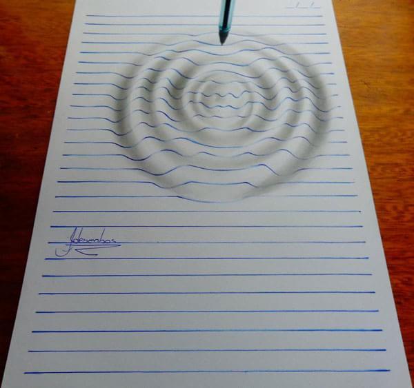 Garoto De 15 Anos Surpreende Com Desenhos Em 3d Feitos Em