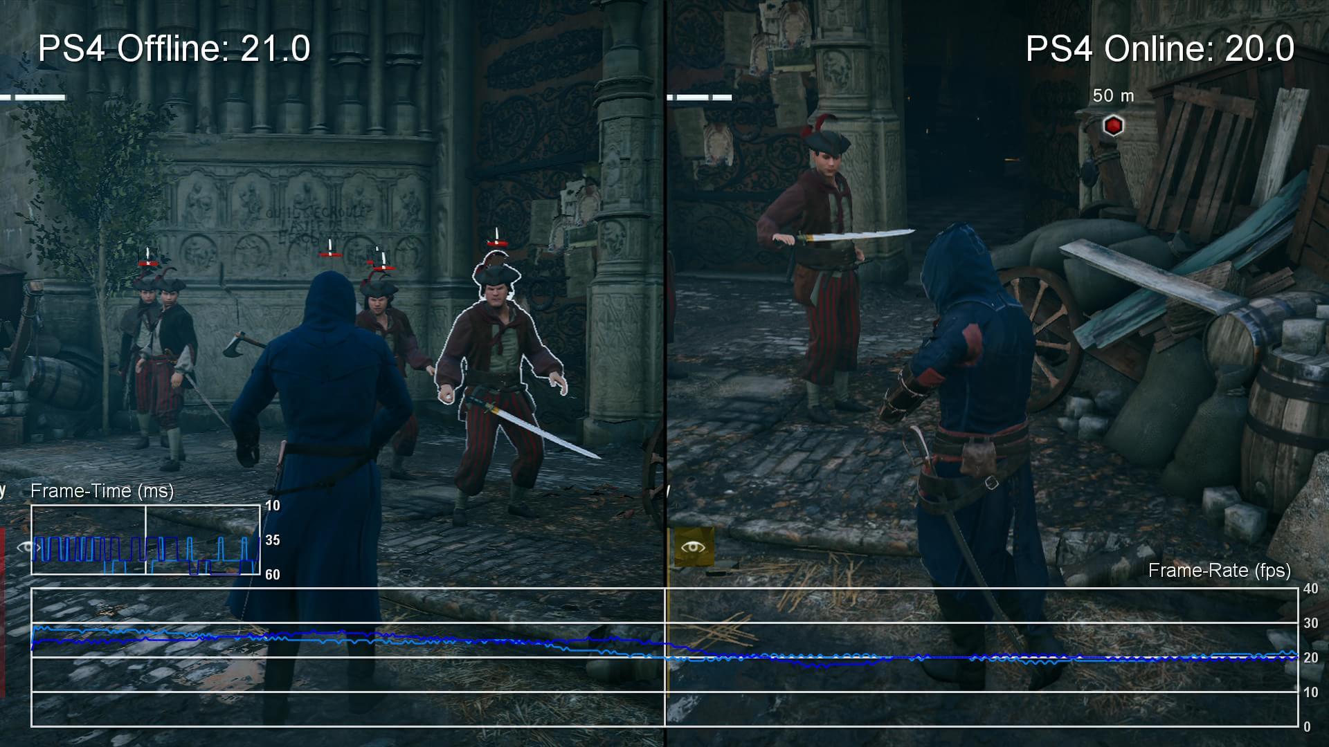 Ubisoft: jogar AC Unity offline pode melhorar o FPS do game – só que não