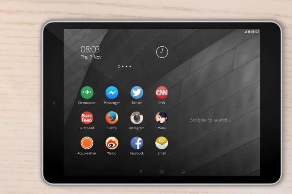 Comparação: Nokia N1 contra grandes tablets do mercado