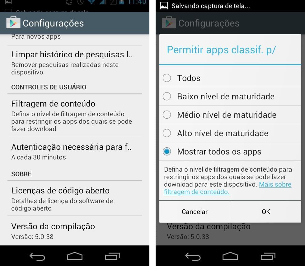 Android: como bloquear pornografia e conteúdos impróprios