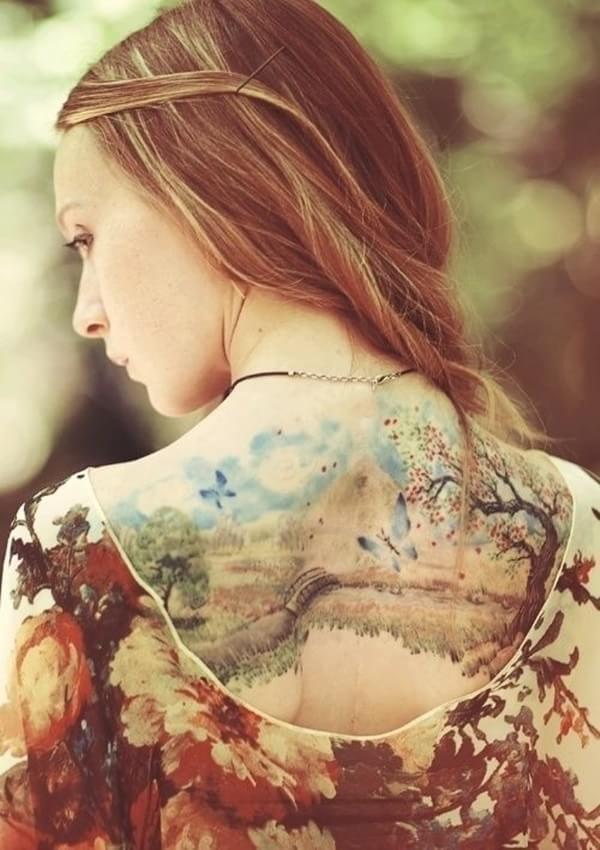 30 bel ssimas tatuagens baseadas na m e natureza mega curioso. Black Bedroom Furniture Sets. Home Design Ideas