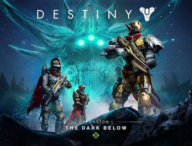 Destiny: A Escuridão Subterrânea