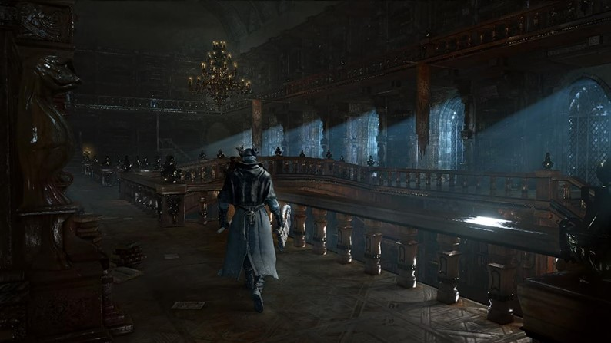 Bloodborne pode incorporar labirintos gerados de maneira aleatória