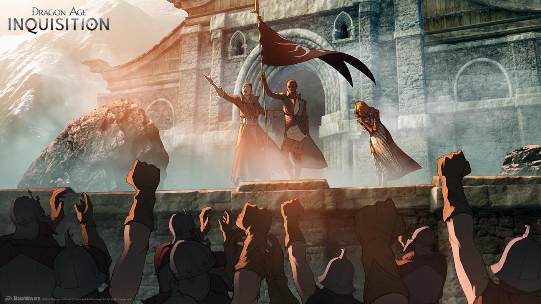 Arte conceitual de Inquisition é divulgada – e é de encher os olhos