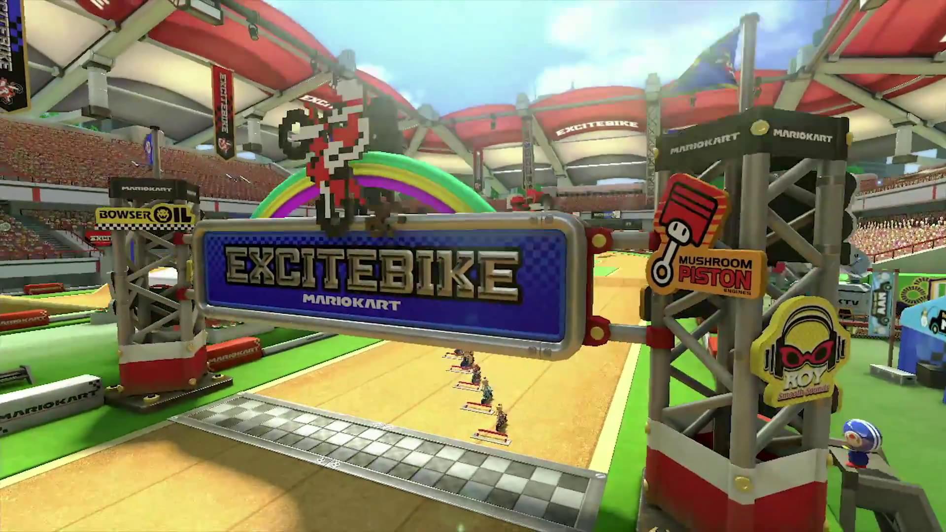 Excitebike Arena com novas imagens