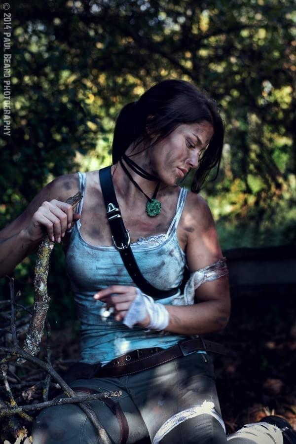 Cosplay de Lara Croft é um dos mais impressionantes que você verá