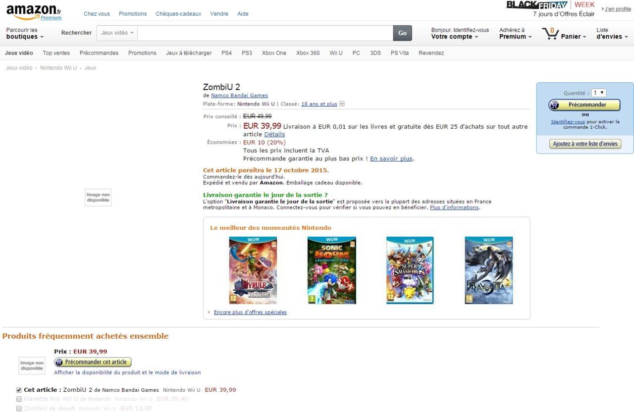 ZombiU 2 é listado pela Amazon francesa