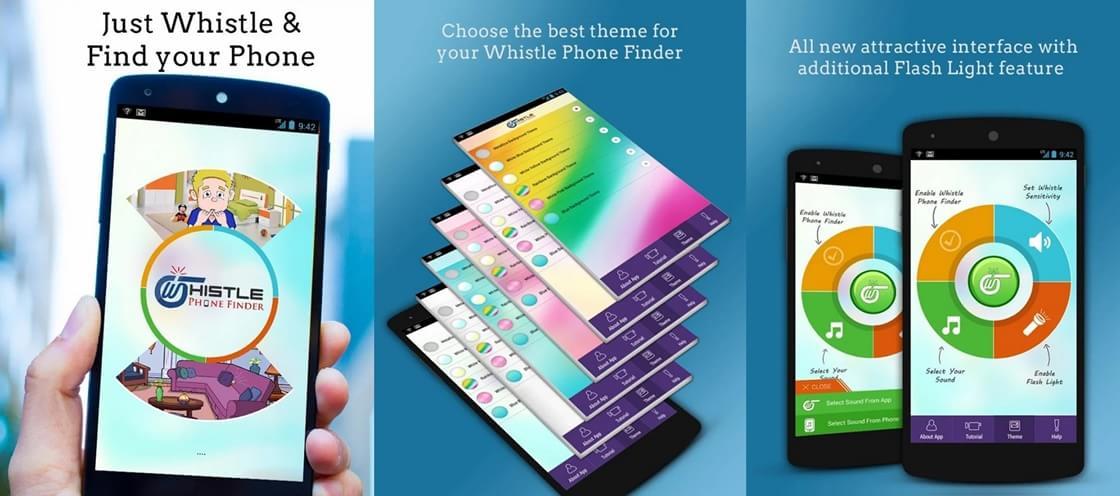 app para localizar celular com assobio