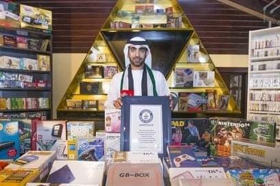 Árabe entra no Livro dos Recordes com coleção de jogos para NES