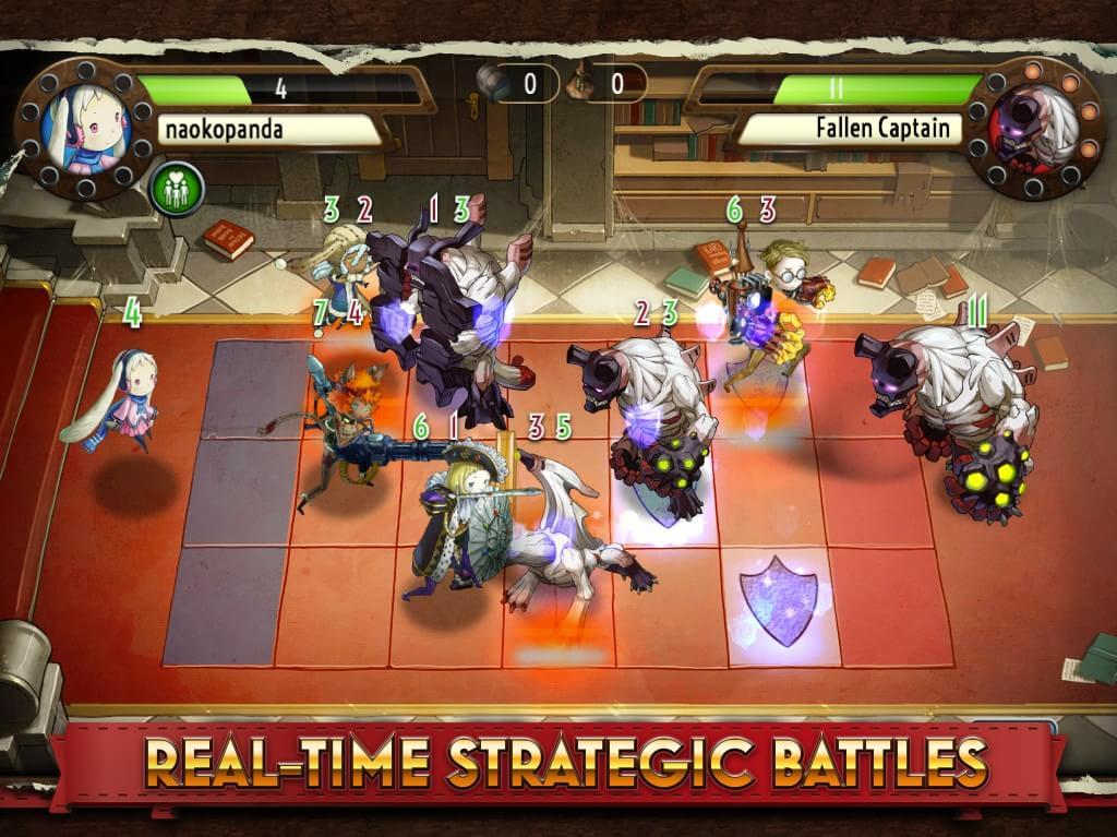 Heavenstrike Rivals: novo RPG tático da Square é lançado para iOS e Android