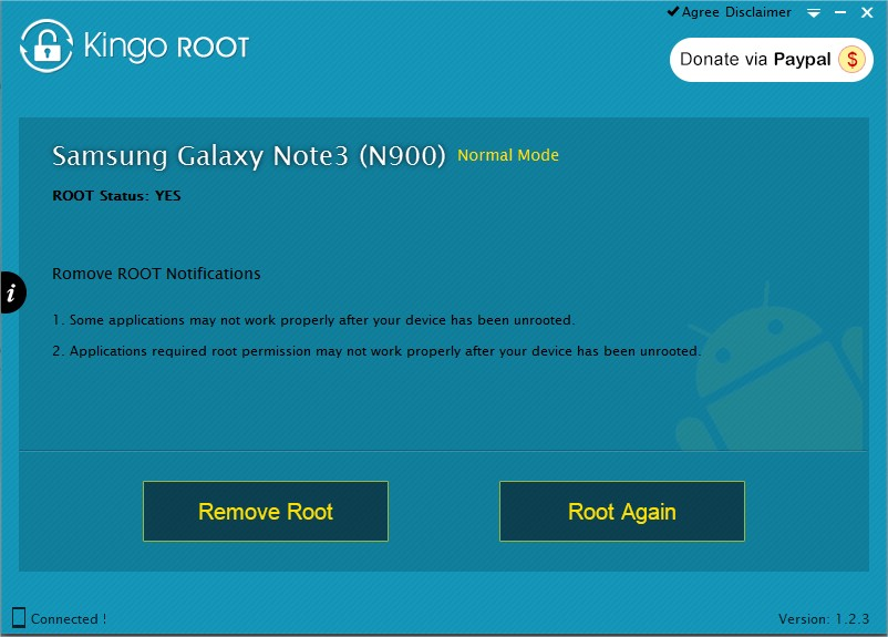 Kingo Android Root - Imagem 1 do software