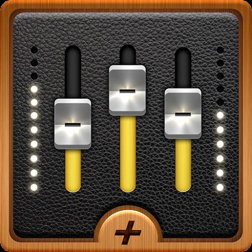 Logo Equalizer + MP3 Player Volume ícone