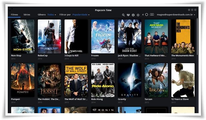 Fleex - Popcorn Time - Imagem 3 do software