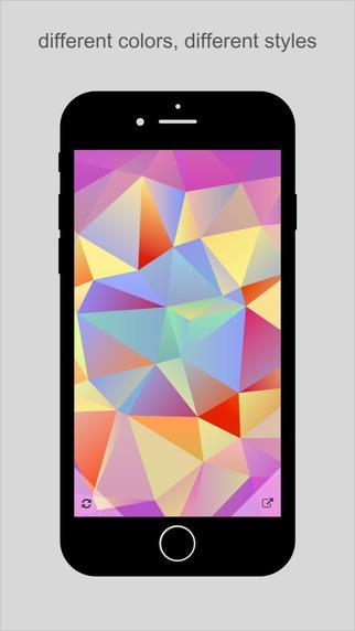 PolyGen - Polygon Wallpaper Generator - Imagem 2 do software