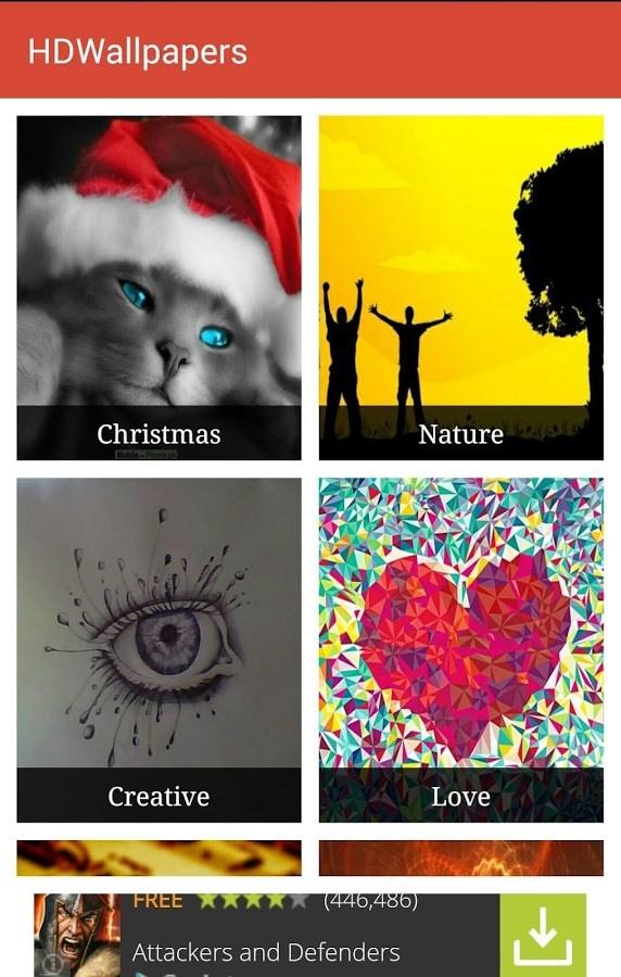 HD Wallpapers - Imagem 2 do software