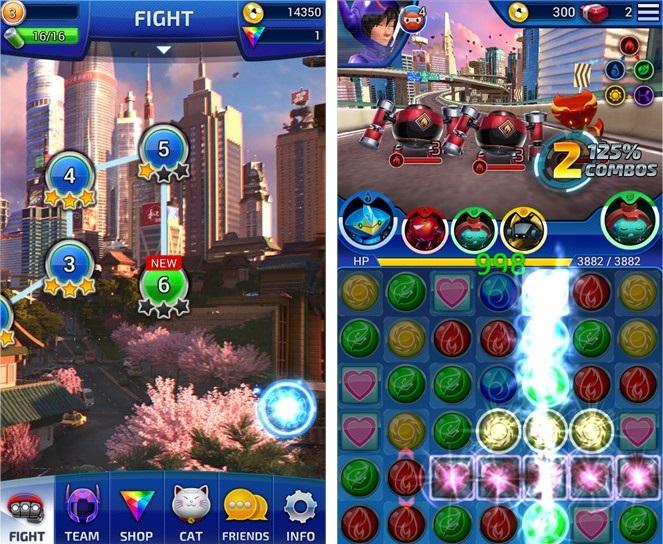 Big Hero 6 Bot Fight - Imagem 1 do software