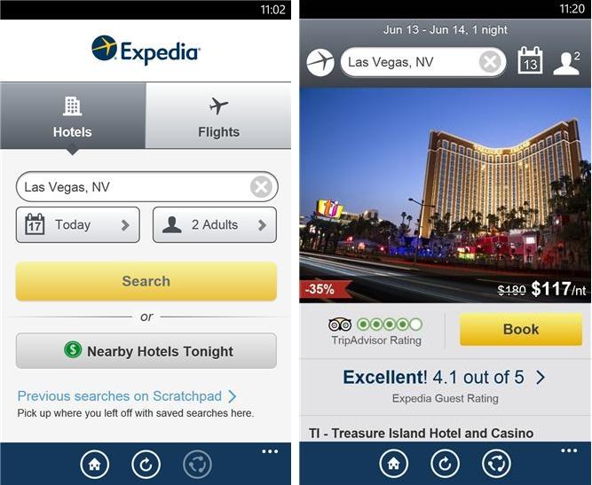 Expedia - Imagem 1 do software