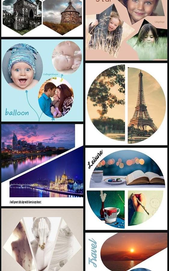 Collage Shape Collage Maker - Imagem 2 do software