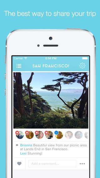 Tripcast - A living travel journal for your friends back home - Imagem 1 do software