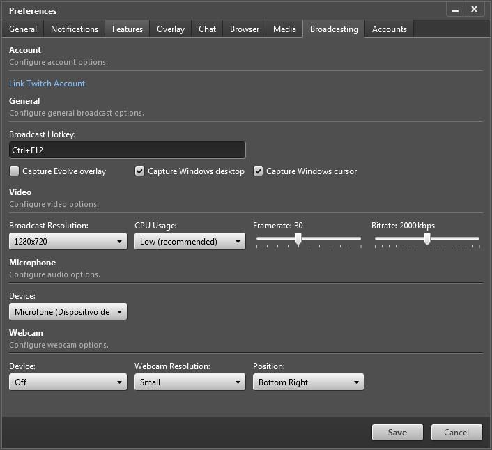 Evolve - Imagem 4 do software