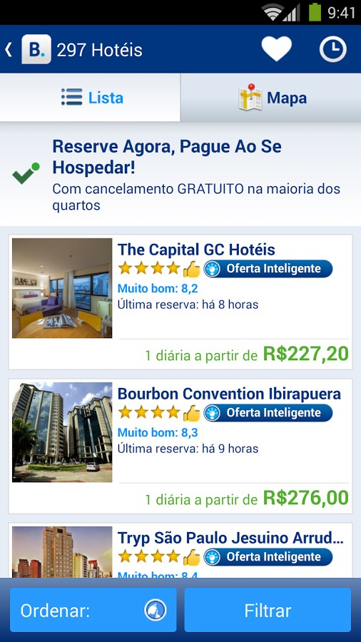 Booking.com: 535.000+ hotéis - Imagem 1 do software