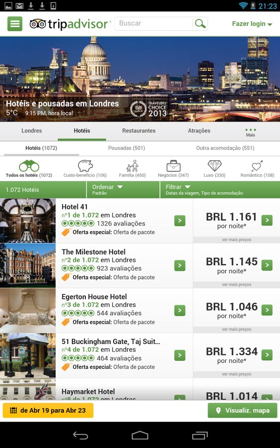 TripAdvisor - Imagem 1 do software