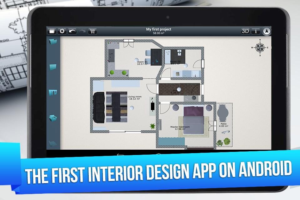 Home Design 3D - FREE - Imagem 1 do software