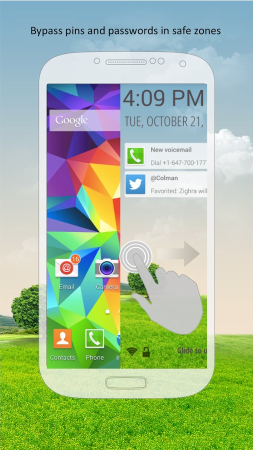 Zwype Lock Screen - Imagem 1 do software