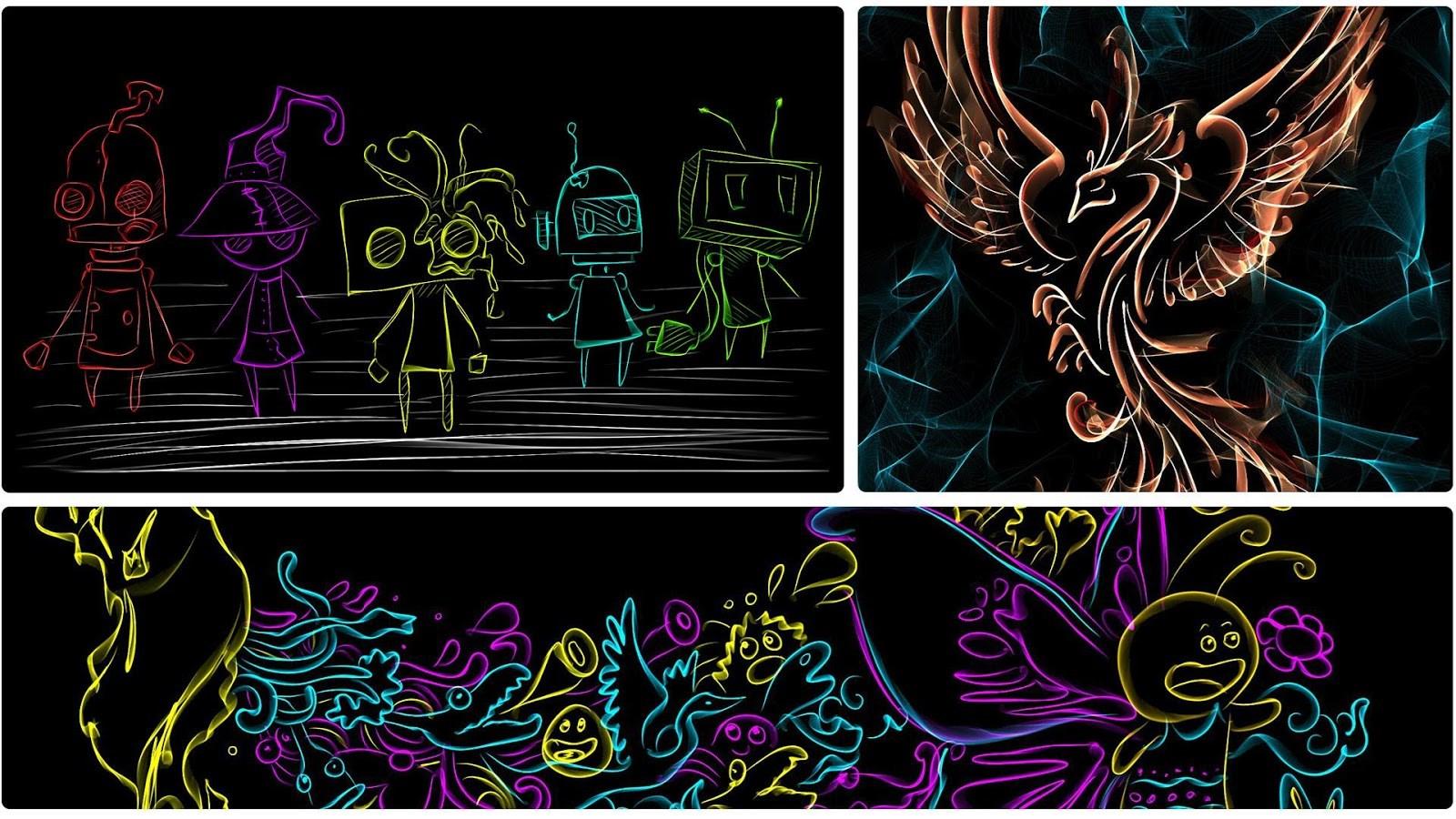 Silk Paints Drawing - Imagem 1 do software