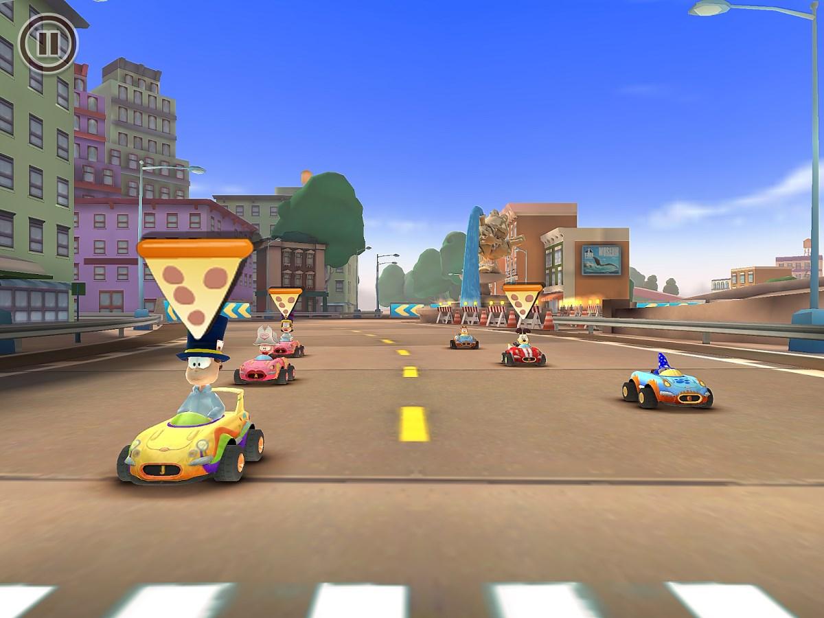 Garfield Kart Fast & Furry - Imagem 1 do software
