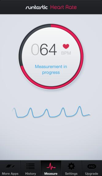 Runtastic Heart Rate Monitor & Pulse Tracker - Imagem 1 do software