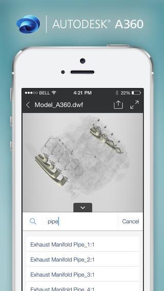 Autodesk A360 - Imagem 2 do software