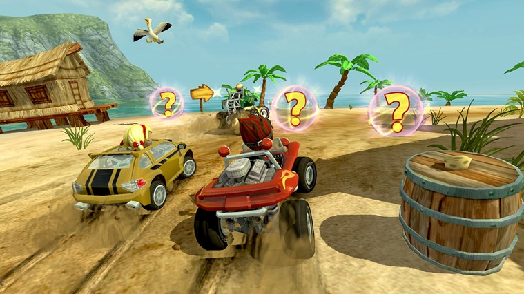 Beach Buggy Racing - Imagem 1 do software